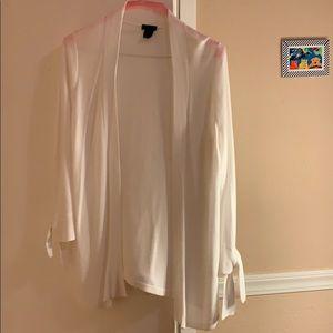 Ann Taylor white cardigan ❤️🙂